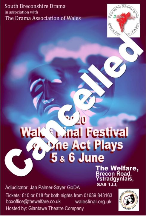 Wales Final Festival of One Act Play 2020