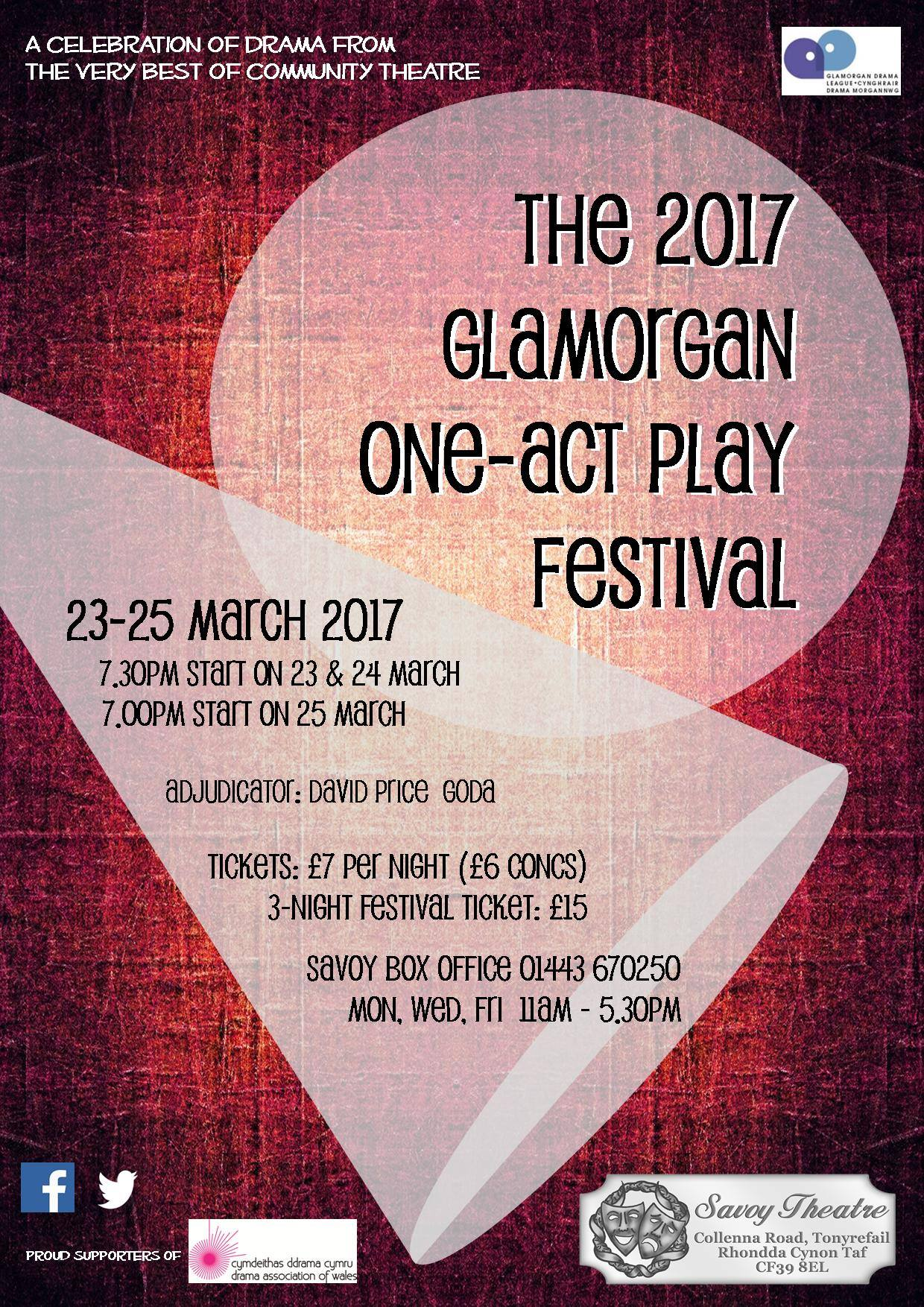 The 2017 Glamorgan One-Act Play Festival