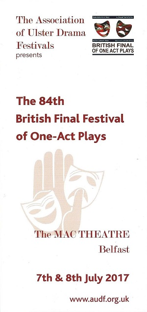 The 84th British Final Festival of One-Act Plays