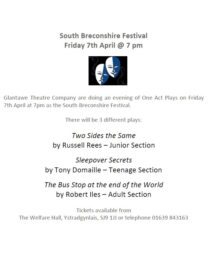 The 2017 South Breconshire One-Act Play Festival